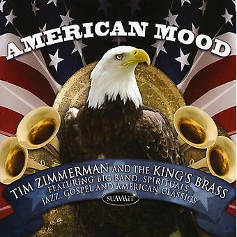 B.a. Zimmerman - American Mood [CD] USA import