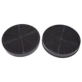 Faber EFF62 Carbon Charcoal Cooker Hood Filter Pack of 2