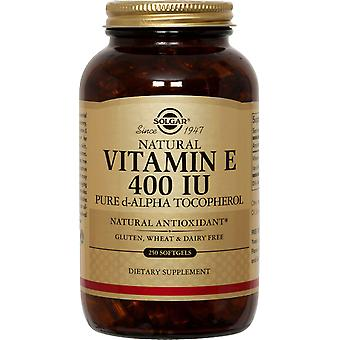 Solgar Vitamin E 400 IE Alpha Softgels 250ct