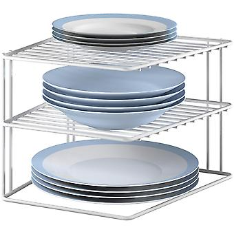 Metaltex Silos Space-Saving Corner Rack (Home , Kitchen , Storage and pantry , Supports )
