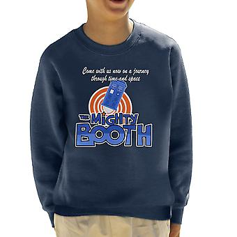 Mighty Booth Doctor Who Tardis Boosh Kid's Sweatshirt