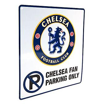 Chelsea No Parking Sign