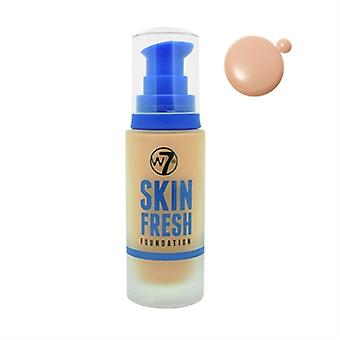 W7 Skin Fresh Foundation Golden Beige 30ml