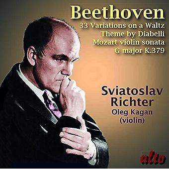 Sviatoslav Richter, Oleg Kagan - Beethoven: Diabelli Variations Op. 120 [CD] USA import