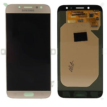 Display LCD complete set GH97-20736 C gold for Samsung Galaxy J7 J730F 2017