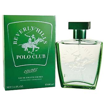 Dyal Beverly Hills Polo Club farver For mænd Eau De Toilette 100Ml traditione