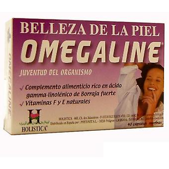 Holística Omegaline 40Cap (Vitamins & supplements , Omegas & fatty acids)