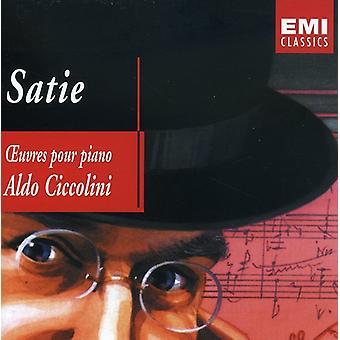 Aldo Ciccolini - Satie: Werke für Klavier [Vereinigtes Königreich] [CD] USA import