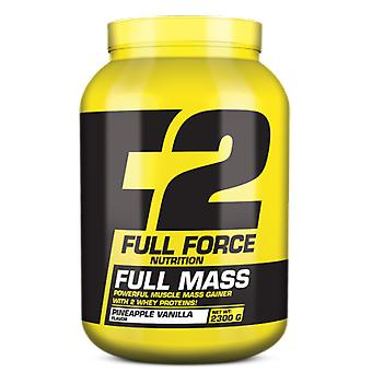Full Force Full Mass Milk Chocolate 4400 Gr (Sport , Muscle mass , Proteins)