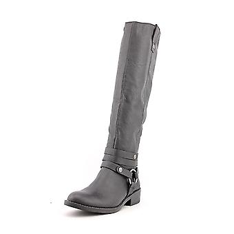 Style & Co. Womens Amber Almond Toe Knee High Fashion Boots Fashion Boots