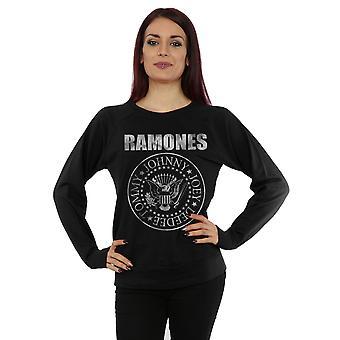 Ramones Women's Distressed Seal Sweatshirt