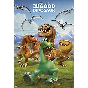 The Good Dinosaur Poster Poster Print