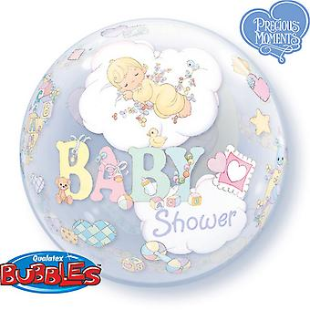 Qualatex 22 Inch Single Baby Shower Design Bubble Balloon