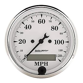 Auto Meter 1688 Old Tyme White Electric Programmable Speedometer