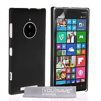 Yousave akcesoria Nokia Lumia 830 Hard Hybrid Case - czarny