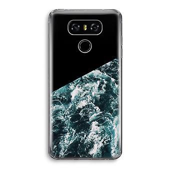 LG G6 Transparent Case - Ocean Wave