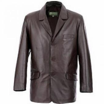 Oneal Mens Leather Coat