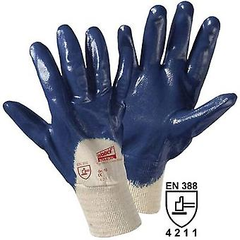 Cotton, Nitrile butadiene rubber Protective glove EN 388 CAT I