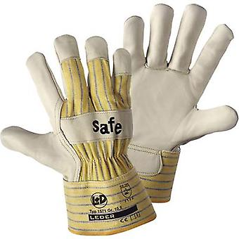worky 1571 Glove SAFE Cattle scar leather Size (gloves): 10, XL