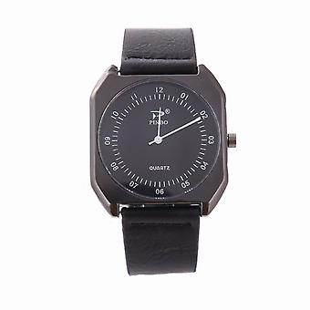 Pinbo Mens Black Square montre analogique VPPIN1