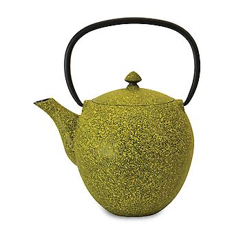 BergHoff Studio - Cast Iron Teapot - Mesh Filter - Lemon - 1.1l