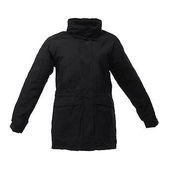 Regata Womens Benson II 3 in 1 impermeabile e traspirante in pile cappotto nero / nero