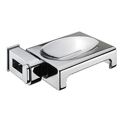 Sonia Nakar Metal Soap Dish with Holes chrome