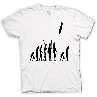 Womens T-shirt - Mans Evolution Of War & Life