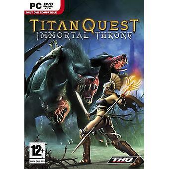 Titan Quest-Immortal Throne (PC-DVD)