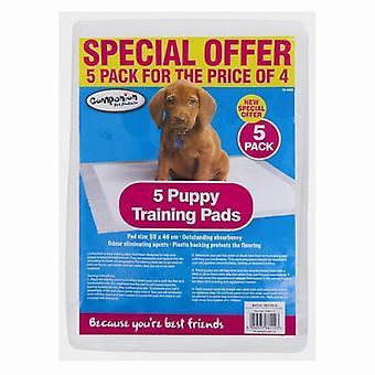5 puppy Training Pads