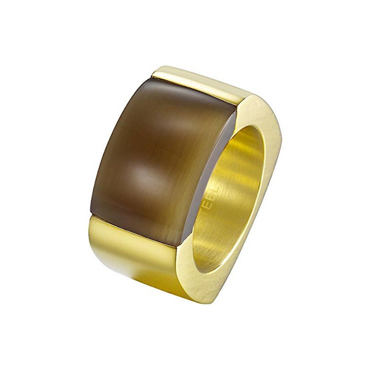 Joop Damen Ring Edelstahl gold MARVELOUS JPRG10614B1