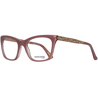 Guess By Marciano Brille Damen Rosa