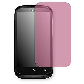 HTC T328e screen protector - Golebo view protector protector (deliberately smaller than the display, as this is arched)