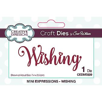 Creative Expressions Craft Dies By Sue Wilson-Wishing