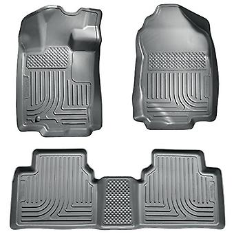 Husky Liners Front & 2nd Seat Floor liner passer 10-12 Fusion/MKZ - FWD