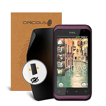 Celicious Privacy 2-Way Visual Black Out Screen Protector for HTC Rhyme