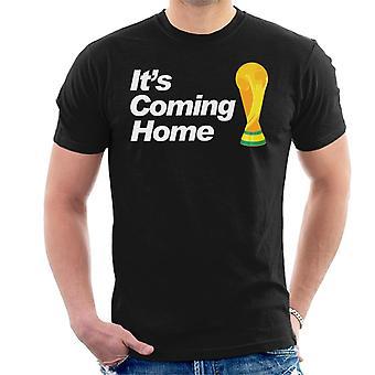Trophäe England WM seine Heimkehr Herren T-Shirt