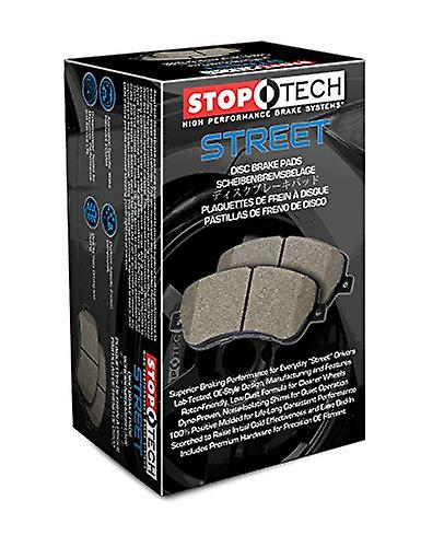 StopTech 308.06871 rue Brake Pad (Front with Shims and Hardware), 5 Pack