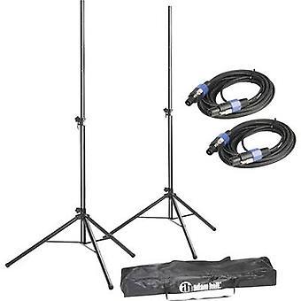 PA-Lautsprecher-Ständer set ausziehbar, höhenverstellbar 1 Set