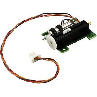 Spektrum Mini servo Linear servo Gear box material: Plastic Connector system: JST