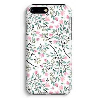 iPhone 8 Plus Full Print-Fall - zierliche Blumen