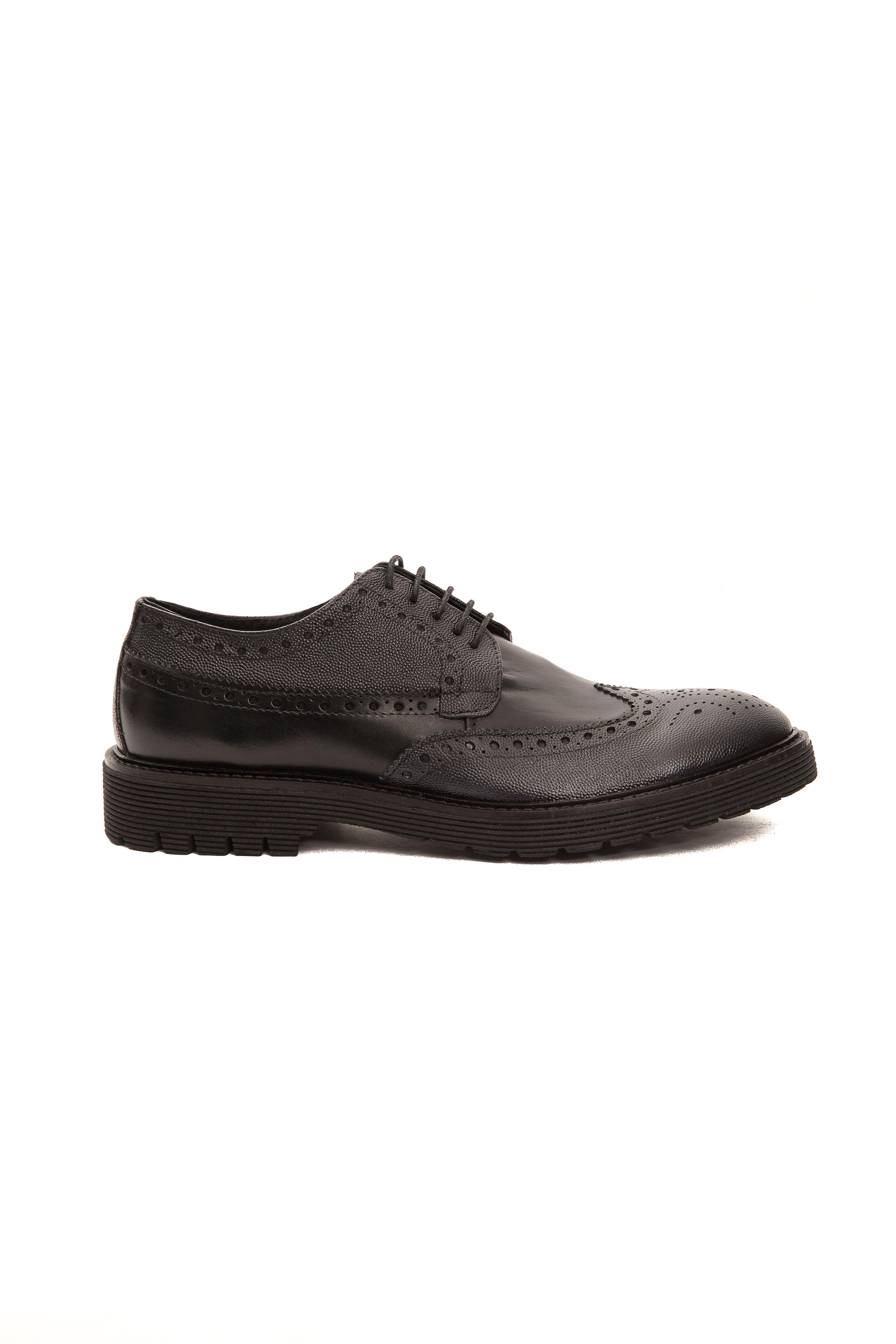 Trussardi Arbasco Black Man Shoes Collection AHqEw5Y