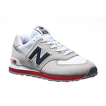 New balance 574 sneaker mens grey leather