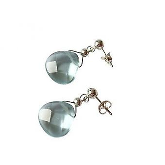 Aquamarine earrings 925 Silver earrings silver SANDRA