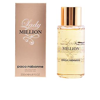 Paco Rabanne Lady Million Shower Gel 200ml Womens Sealed Boxed