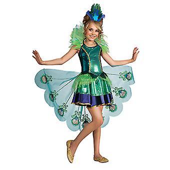Pavo real vestido traje de pavo real para niños