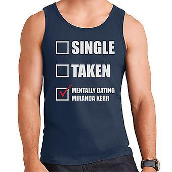 Mentally Dating Miranda Kerr Men's Vest