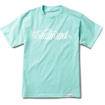 Co de suministro de diamantes diamante gigante Script camiseta diamante azul