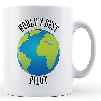 World's Best Pilot - Printed Mug