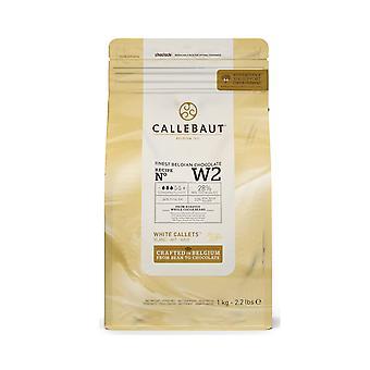 Callebaut weiße Schokolade Callets